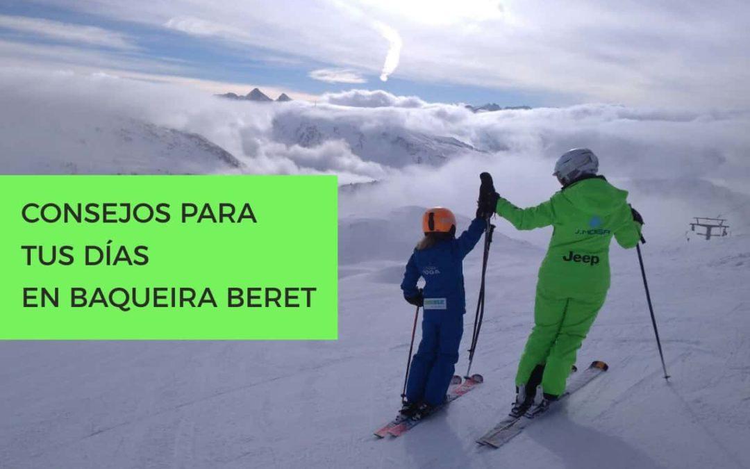 Consejos para tus navideños días de esquí en Baqueira Beret